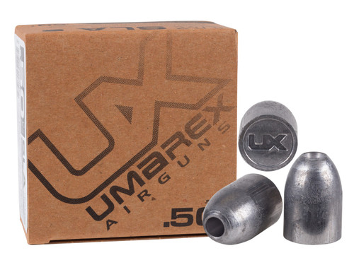 Umarex SLA - Solid Lead Ammo - .510/.50 cal., 350 grain (20 ct.)