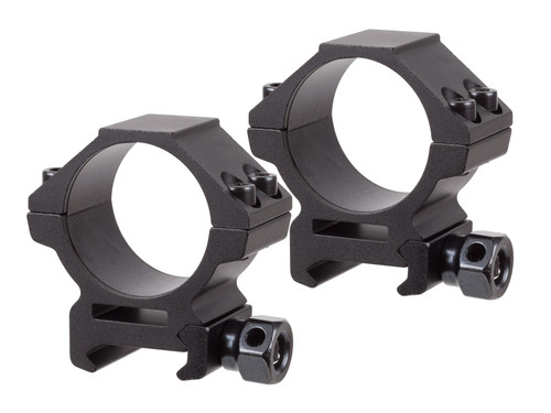 UTG 30mm Rings, Low, Weaver Mount, See-Thru