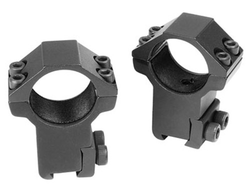 """CenterPoint 1"""" Rings, High, 3/8"""" Dovetail"""