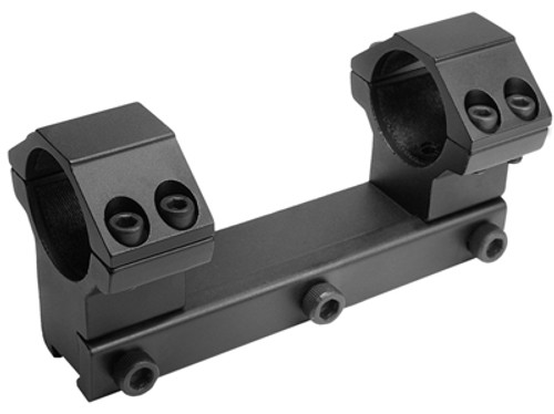 """CenterPoint 1-Pc Mount, 1"""" Rings, High, 3/8"""" Dovetail, 4 Screws/Cap"""