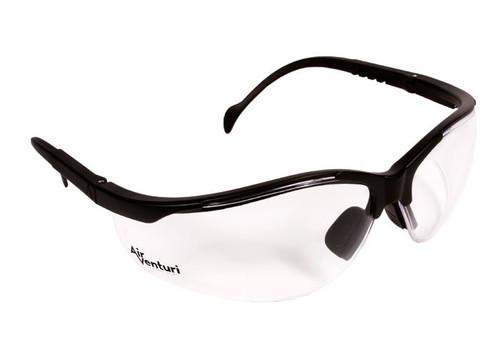 Air Venturi Safety Glasses, Clear Anti-Fog Lenses, Adjustable