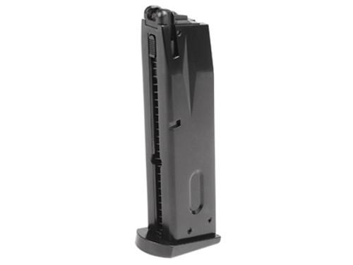 ASG / KJ Works M9 Gas Blowback Airsoft Pistol Magazine, 25 Rds