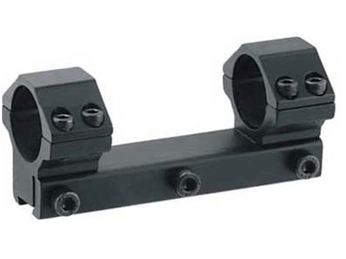 "Leapers Accushot 1-Pc Mount w/30mm Rings, Medium, 3/8"" Dovetail"
