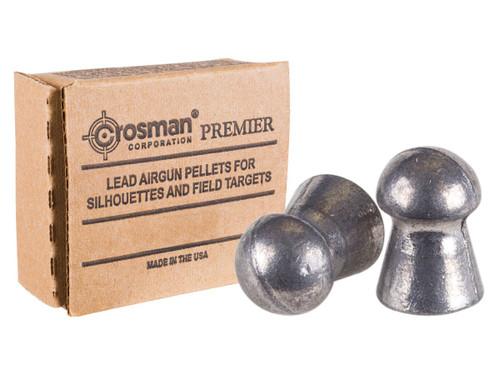 Crosman Premier Heavy .177 Cal, 10.5 Grains, Domed, 1250ct