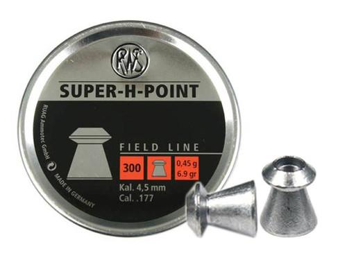 RWS Super-H-Point .177 Cal, 6.9 Grains, Hollowpoint, 300ct