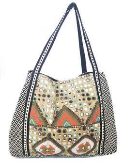 CANYON CACTUS Embellished Bag