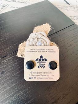 GT Stud Tagua Earrings
