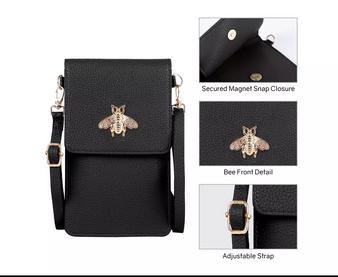BEE Touch Screen Crossbody Bag
