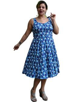 Blue Jay Bird Dress
