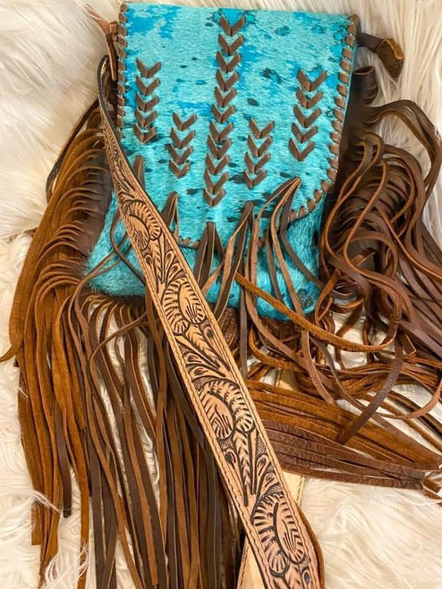 ADB Torquoise Inca Bag
