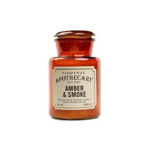 Apothecary Glass Candle 8oz