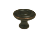 "085-03-0826 Oil Rubbed Bronze 1 1/4"" Ring Design Cabinet Drawer Knob"