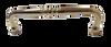 "P5020AV-PL Solid Brass 3"" Ornate Pull Cabinet Drawer Knob"