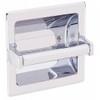 Commercial 1607B Recessed Toilet Tissue Dispenser Chrome