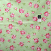 Tanya Whelan Rosey PWTW062 Little Roses Green Cotton Fabric By Yd