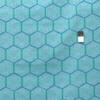 Joel Dewberry PWJD128 Cali Mod Hexablock Teal Cotton Quilting Fabric By Yard