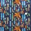 African Tribal Multi-Color Print T-5028 Polished Cotton Fabric By The Yard
