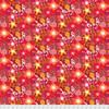 Amy Reber PWAR009 Jitterbug Chelsea Redbud Cotton Fabric By Yd