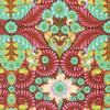 Tula Pink PWTP085 Slow & Steady The Tortoise Orange Crush Cotton Fabric By Yard