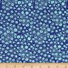 Tokyo Milk Neptune & The Mermaid PWTM009 Floral Reef Navy Fabric By Yd