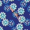 Tokyo Milk Neptune & The Mermaid PWTM006 Song Of Siren Navy Fabric By Yd