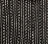 "25266 African Mali Mud Cloth Bambara Bogolanfini Black & White Aprox 45"" x 63"""
