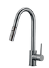 FBX Elam 82H13-BN-A Kitchen Pull Down Spray Faucet Brushed Nickel Finish