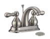 "FBX Chapman 83H15-BN-A Bath 2 Handle 4"" Centerset Faucet Brushed Nickel"
