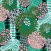 Amy Reber Posy PWAR001 Bunches Julep Cotton Fabric By Yd