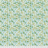 Shannon Newlin Garden Dreams PWSN0014 Very Berry Blue Cotton Fabric By Yd