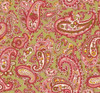 Henry Glass 1322-66 Windsor Park Paisley Green Cotton Quilting Fabric By Yd