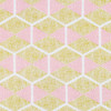 Joel Dewberry RAJD009 Cali Mod Hexablock Gold RAYON Fabric 8 Yard Bolt