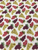 Henry Glass 1355-99 Wine Night Tossed Grapes Grey/Multicolor Quilting Fabric By Yard