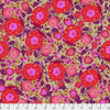 Shannon Newlin Vibrant Blooms Rose Red Cotton Fabric By The Yard