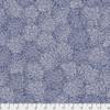 Valori Wells PWVW007 Murmur Centers Indigo Cotton Fabric By Yard