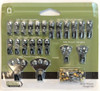 Project Basics 134890 22 Piece Light to Heavy Picture Hanger Variety Pack