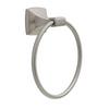 Delta PWD46-BN Portwood Bath Towel Ring Satin Nickel Finish