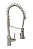 American Standard Pekoe 1 Handle Semi Professional Kitchen Faucet Stainless Steel