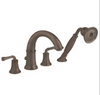 American Standard Portsmouth Deck-Mount Tub Filler w/ Personal Shower Oil Rubbed Bronze