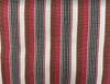 "African Faso Dan Fani Handmade Woven Pink Stripe Cotton Fabric 12"" x 7 Yard"