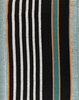 "African Faso Dan Fani Handmade Woven Teal Cotton Fabric 43"" x 68"""