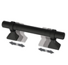 "Liberty P44376C-FB 1 3/8"" - 4"" Classic Adjustable Cabinet Pull Flat Black"