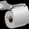 Delta 752500 Tesla Bath Toilet Paper Holder w/ Cover Polished Chrome Finish