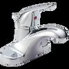 """Delta Foundations B510LF 4"""" Centerset 1-Handle Bath Faucet Chrome"""