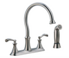 Delta 21925LF-SS Vessona Stainless Steel Kitchen Faucet w/ Side Sprayer