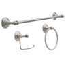 Delta GRE63-BN Greenwich II 3 Piece Bath Accessory Set Satin Nickel