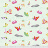 Tula Pink PWTP162 Curiouser & Curiouser Sea Of Tears Wonder Cotton Fabric By Yd