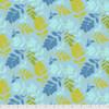 Free Spirit Sew Kind Of Wonderful Mod Cloth ZZ Leaf Earth Cotton Fabric By The Yard