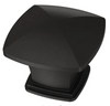 "Liberty P35596K-FB Flat Black 1 1/4"" Square Cabinet Drawer Knob 25 Pack"