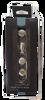 "085-03-0119  3/4"" Milk Bottle Satin Nickel Cabinet Drawer Pull Knob 4 Pack"